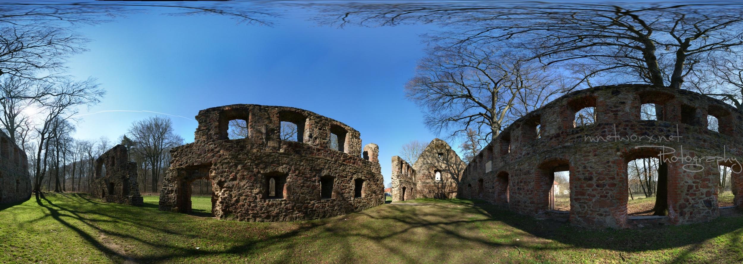 Kloster Nimbschen - erstes Gigapixel Pano